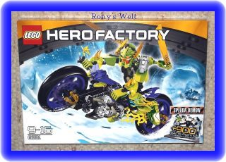 LEGO® Hero Factory 6231 ~ SPEEDA DEMON ~ Rarität ~ + 900 Game Points