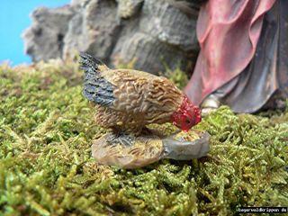 Krippenzubehör Hühner 5 teilig T025 für 9   12 cm Figur