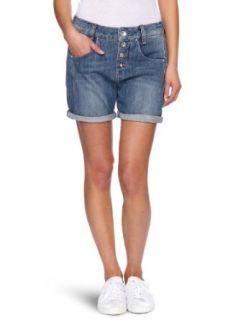 Fornarina Damen Jeans Short BER1F14D657AG Bekleidung