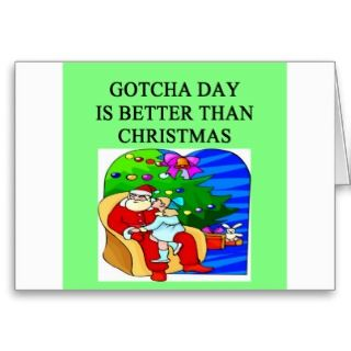 gotcha day adoption christmas idea cards