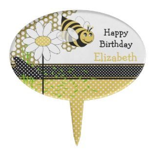 Birthday Party Cake Toppers, Birthday Party Cake Picks & Decorations