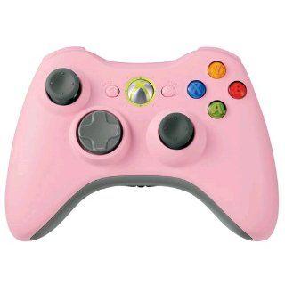 Xbox 360   Controller Wireless Pink Original Games