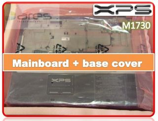 Dell XPS M1730 Laptop Complete Bottom Base Unit Mainboard + Plastics