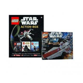 Lego Star Wars Action Box und Mini Republic Attack Cruiser 30053