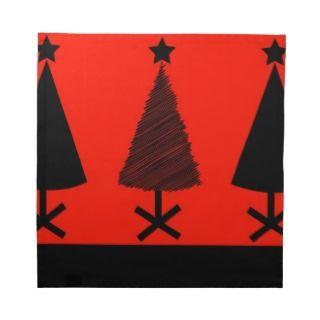 Merry Christmas Holiday Tree Ornaments celebratio Printed Napkin