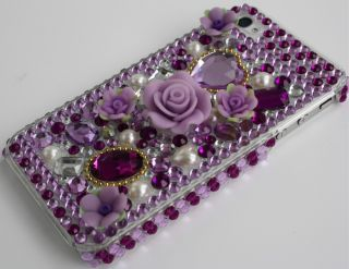 IPhone 4 4g Strass BLING GLITZER case Cover hülle LUXUS
