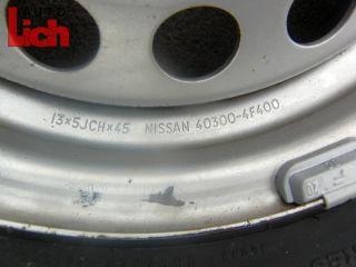 Nissan Micra K11 BJ96 2x Kompletträder Sommerreifen Sommerräder 155