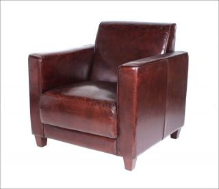 vintage sessel ledersessel design lounge sofa m bel neu 441. Black Bedroom Furniture Sets. Home Design Ideas