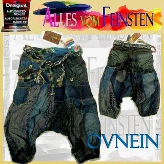 DESIGUAL Hose Jeans Pant Haremshose OVNEIN GR 42