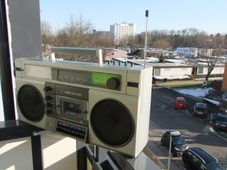 Medeo RM 102 Медео Ghettoblaster Boombox russischer Radiorecorder