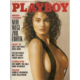 Playboy Magazin September 1988 Zeitschrift Original Deutsche Ausgabe 9