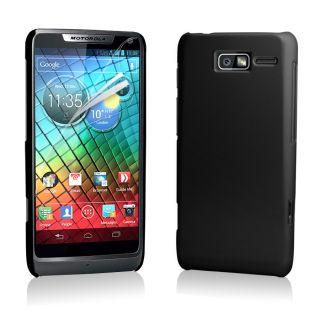 Hybrid Hard Case Cover For Motorola XT890 RAZR i + Screen Protector