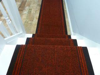 Läufer Teppich grün Inka 66cm breit rutschfest Teppichläufer