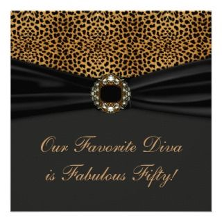 Womans Fabulous 50th Birthday Party invitations by InvitationCentral