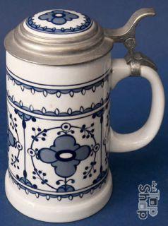 BIERSEIDEL KRUG LICHTE Porzellan Beer stein Germany 435