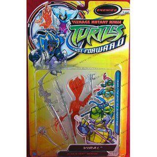 Teenage Mutant Ninja Turtles   Fast Forward   Enemies   Viral   Figur