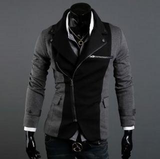 New Mens Slim Fit Kleine Anzug / Mantel / Jacke XS S M L und Farbe