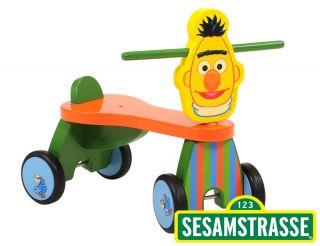Sesamstraße Bert Kinder Vierrad Sesame street Cartoon Rutscher