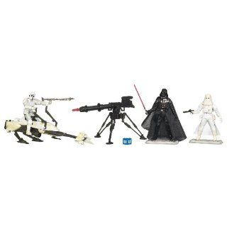 Battle Pack Hoth Assault mit Biker Scout & Speeder Bike, Darth Vader