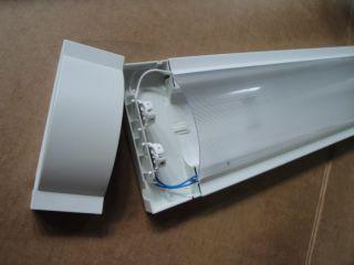 Lampada Plafoniera Neon 2x36W Design lampade incluse Incluse 2 tubi