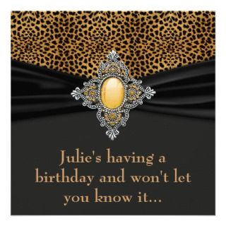 Womans Surprise 40th Birthday Party invitations by InvitationCentral
