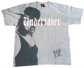 UNDERTAKER Official WWE WRESTLING STAR T Shirt XL/XXL