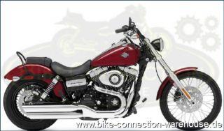 neue Chrom Fahrer Sissy Bar mit Gepäckträger für Harley Wide Glide