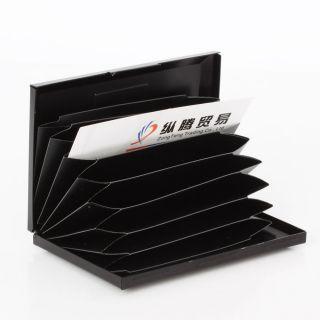 Aluminum Wallet Business Name Credit ID Card Holder Case Storage Bag