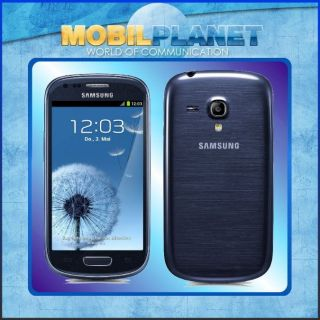 SAMSUNG I8190 GALAXY S III S3 MINI BLUE I 8190 SMARTPHONE ANDROID