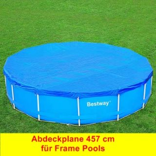 abdeckplane f frame pool 366 cm plane bestway intex. Black Bedroom Furniture Sets. Home Design Ideas