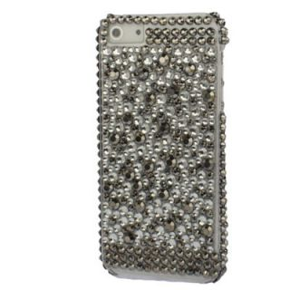 APPLE IPHONE 5 STRASS BLING GLITZER CASE TASCHE COVER HÜLLE BUMPER