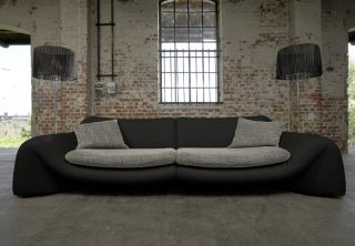 Designer Garnitur Style Mega Big Sofa Yves Polster Eck sofa Concept