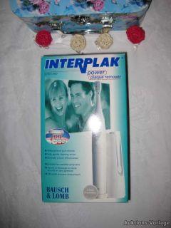 INTERPLAK POWER PLAQUE REMOVER**Elektrische Zahnbürste, neu