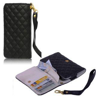 Portemonnaie Portmonee Leder Tasche Etui Hülle Wallet Case 473