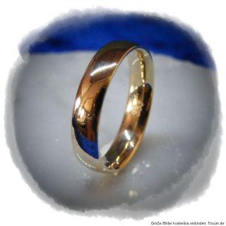 EHERINGE Trauringe Ring 333 Gold 8 Karat Gravur Ehering Ringe