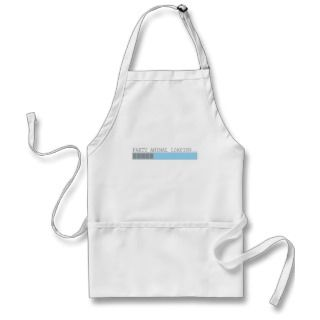 Party animal loading funny mens guys girls humor apron