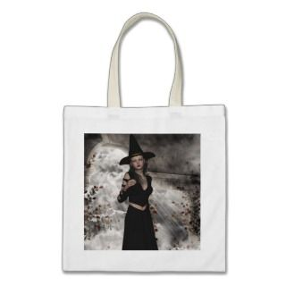 Halloween Beautiful Witch Bag