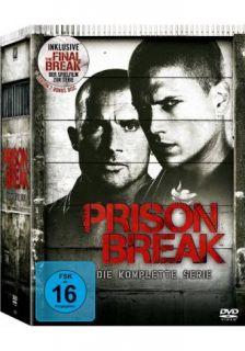 Prison Break Die komplette Serie Staffel 1 4 The Final Break 24 DVD