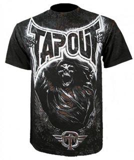 Tapout Everliving T Shirt schwarz M/L/XL/XXL MMA UFC