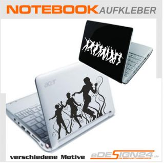 E86 DJ Musik Laptop Notebook Sticker Aufkleber NEU