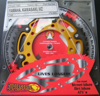 Supersprox Kettenrad Yamaha R1, 479 45, sprocket, neu