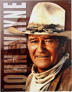 John Wayne Portrait Western Film Schild 492*