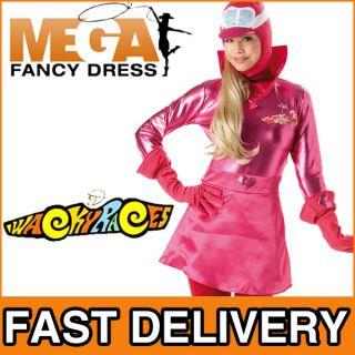 Kostum Penelope Pitstop Wackey Races 60er Jahre Verkleidung Outfit