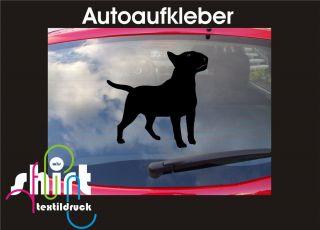 483  Bull Terrier Hund Dog Auto Aufkleber für Auto, Laptop, Möbel