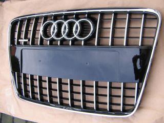 Audi Q7 original S Line Kühlergrill Chrom Grill Chromgrill mit