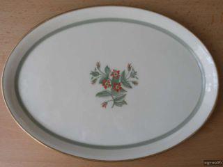 Royal Copenhagen FENSMARK 1010   kl. ovale Platte   Design  Thorkild
