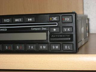 Mercedes Benz Radio Becker Mexico Diversity CD BE 0876 C126 W124 W126