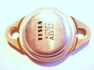 2x 60V 20A 150W NPN Si Transistor KD502 (2N3055) #3T71