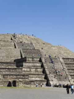 Pyramid of the Moon, Teotihuacan, 150Ad to 600Ad and Later Used by the Aztecs, North of Mexico City Photographic Print by R H Productions