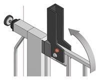 Tür  und Treppenschutzgitter Reer Lisa 73 85 max.137cm